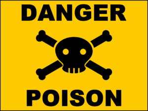 toilet roll poisonous