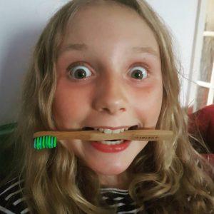 LissyLu with bamboo