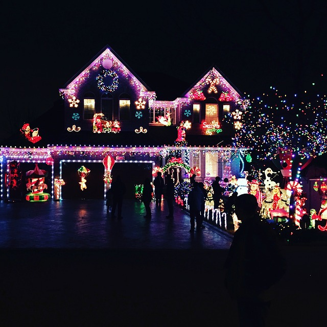 house Christmas lights