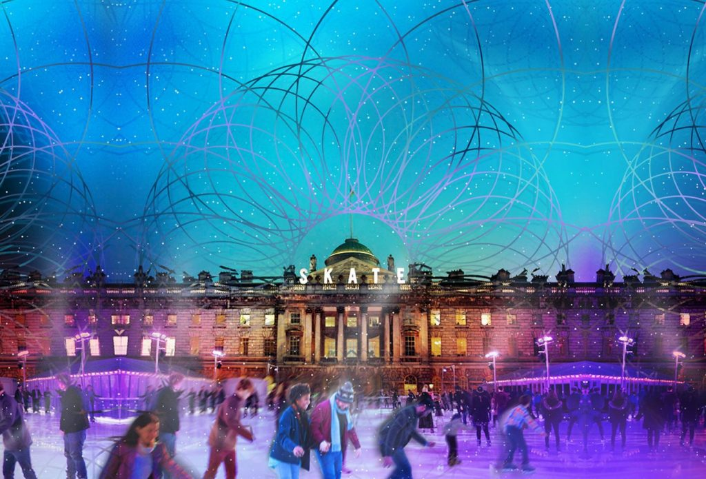 Somerset House skating