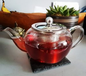 glass teapot infuser