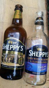 Sheppy's bottles