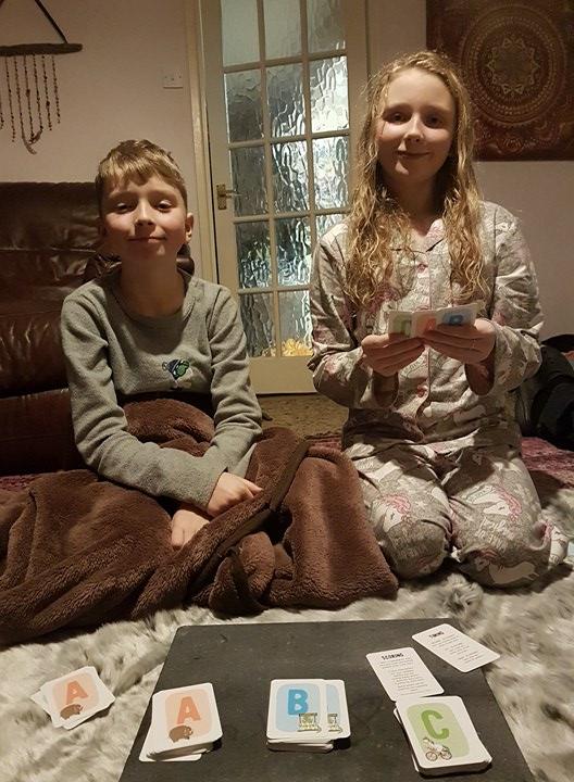 Sunday evening family games