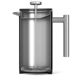 side view cafetiere