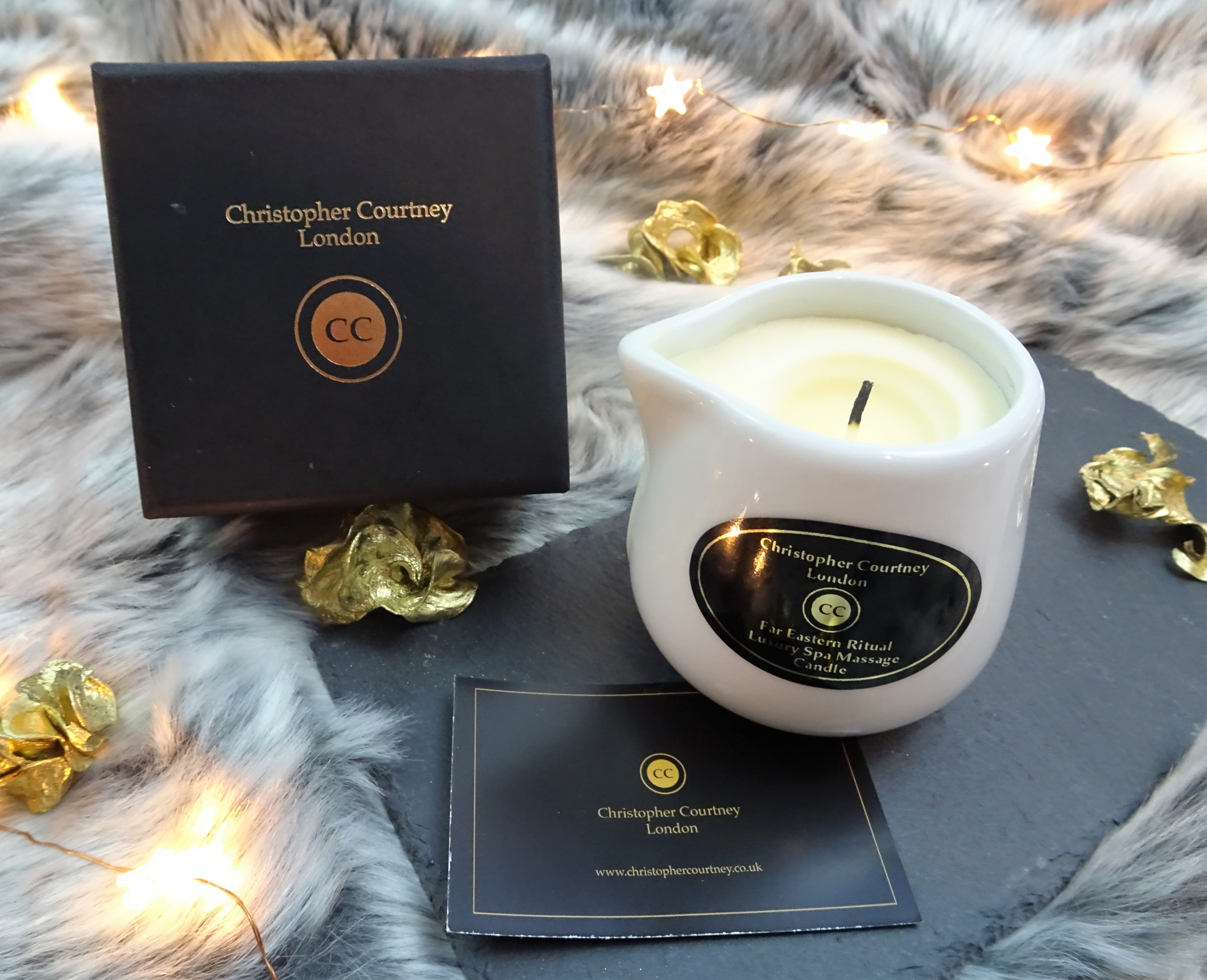 Christopher Courtney candle