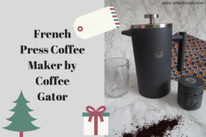 French Press Coffee Maker by Coffee Gator