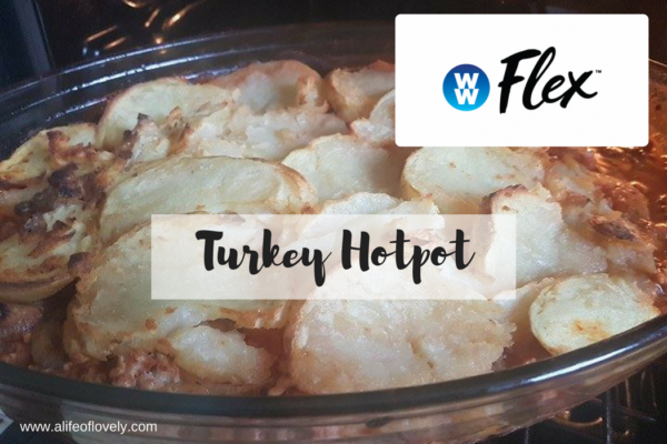 Weight Watchers Flex turkey hotpot
