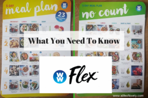 Weight Watchers Flex – What You Need To Know