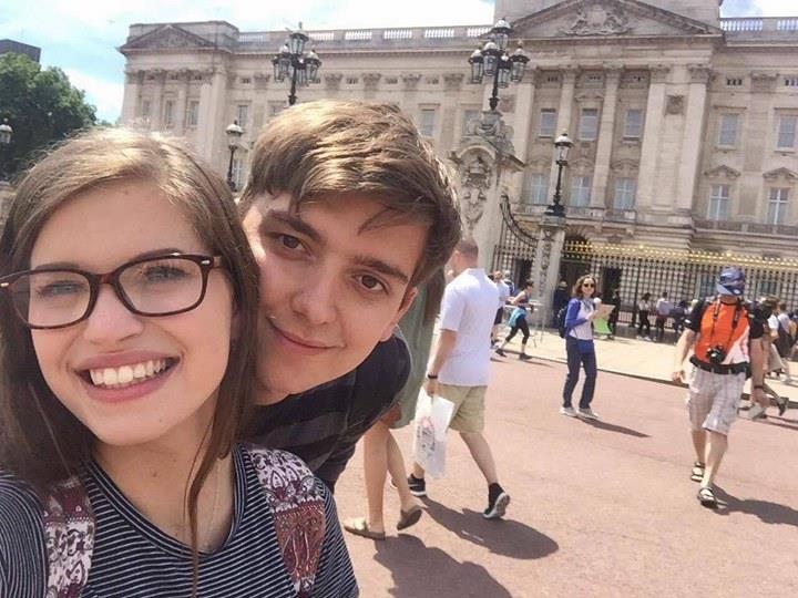 Lewis and Beth Buckingham Palace