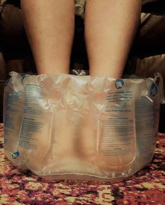 magnesium foot bath