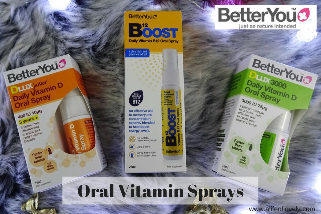 Vitamin Oral Sprays - Better You