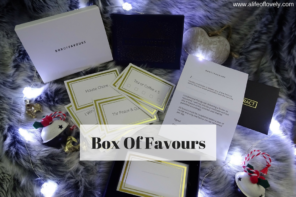 The Gift Of Giving – Box Of Favours