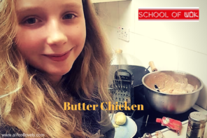 Butter Chicken With School Of Wok