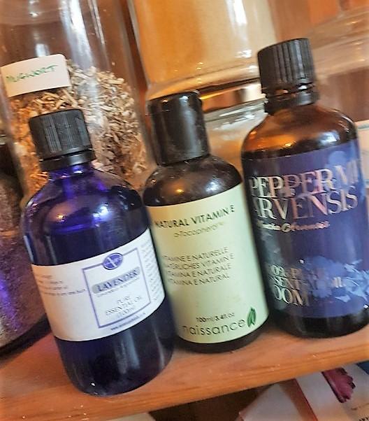 essential oils and vitamin e