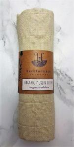 herbfarmacy organic cotton muslin cloth