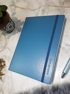 personalised stationary notebook