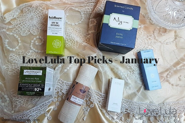 LoveLula Top Picks - January - Green Beauty