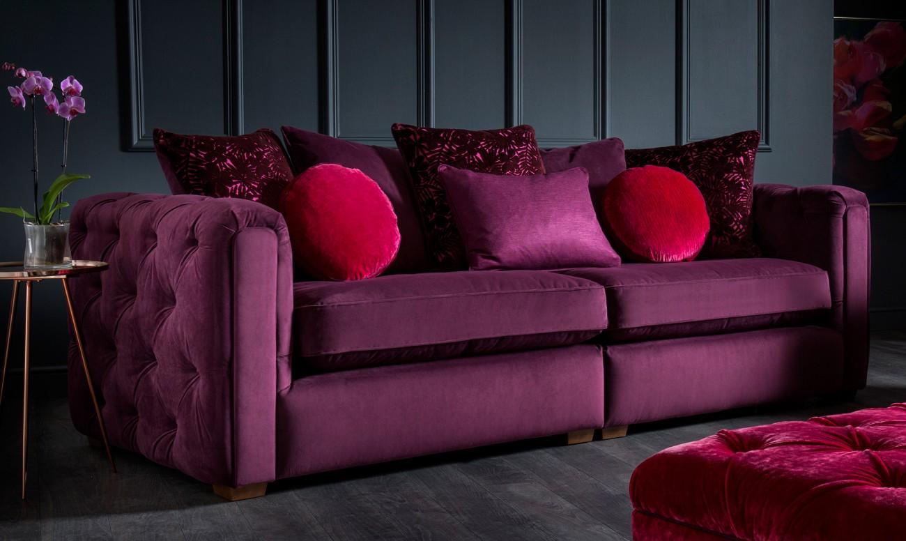 ultra violet sofa from Fishpools - Waldorf