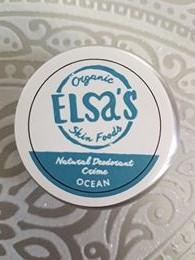 Elsa's Organic Skin Foods - Ocean Deodorant
