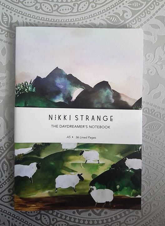 Nikki Strange - Sheep Valley A5 Notebook
