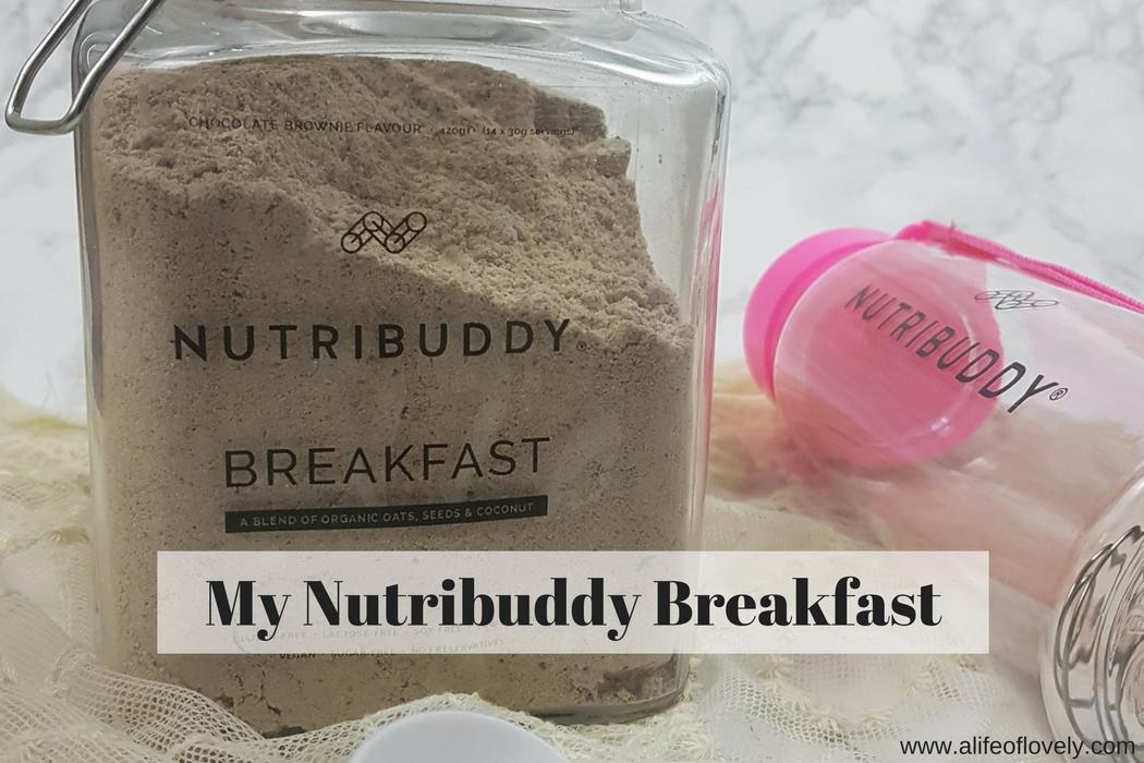 My Nutribuddy breakfast