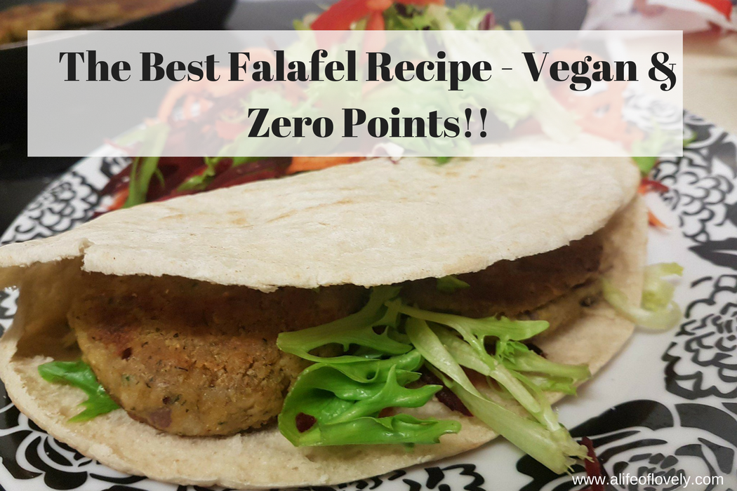 The Best Falafel Recipe - Vegan & Zero Points!!