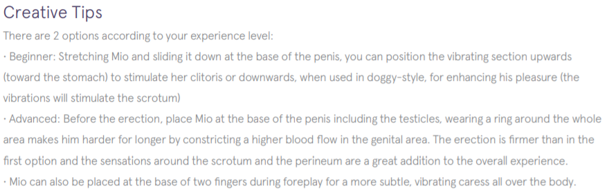 cock ring instructions