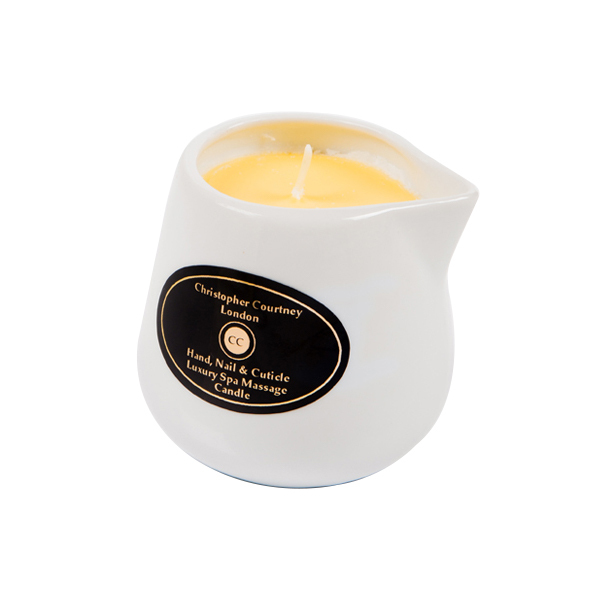 Christopher Courtney London Hand, Nail & Cuticle Luxury Massage Candle