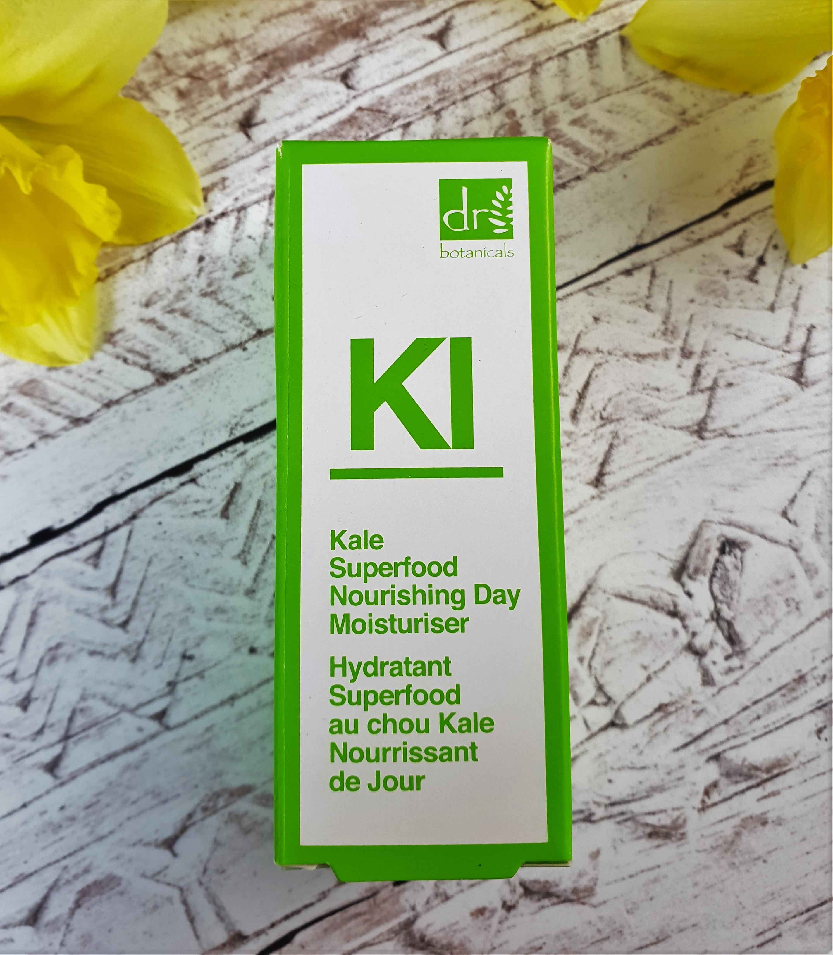 Dr.botanicals Kale Superfood Nourishing Day Moisturiser 30ml