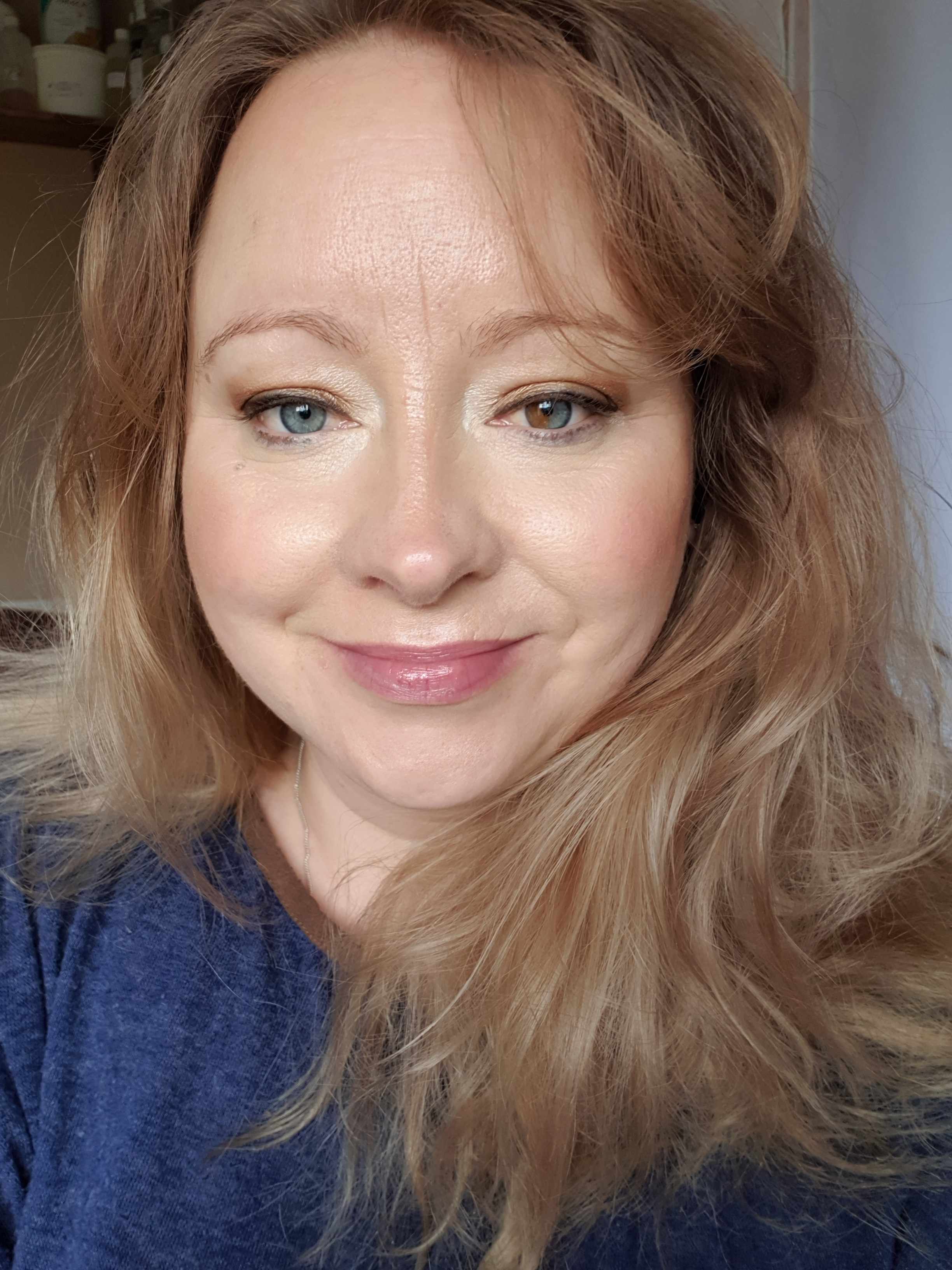 clean makeup look