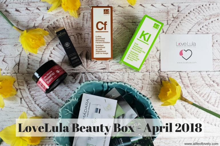 LoveLula Beauty Box - April 2018