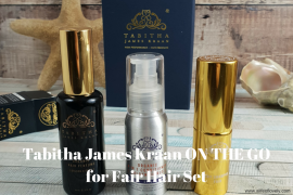 Tabitha James Kraan ON THE GO for Fair Hair Set