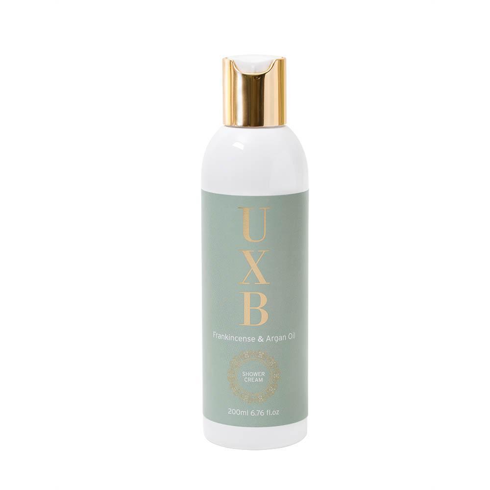 frankincense argan shower gel