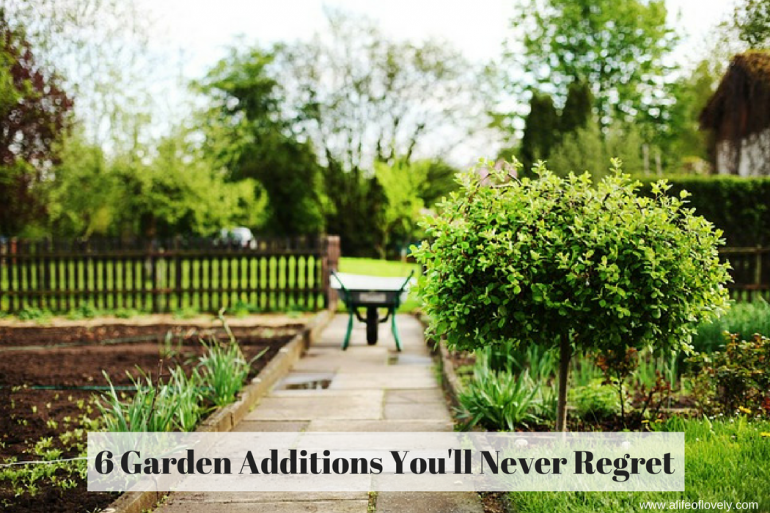 6 Garden Additions You'll Never Regret