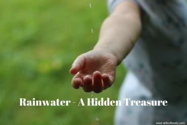 Rainwater - A Hidden Treasure