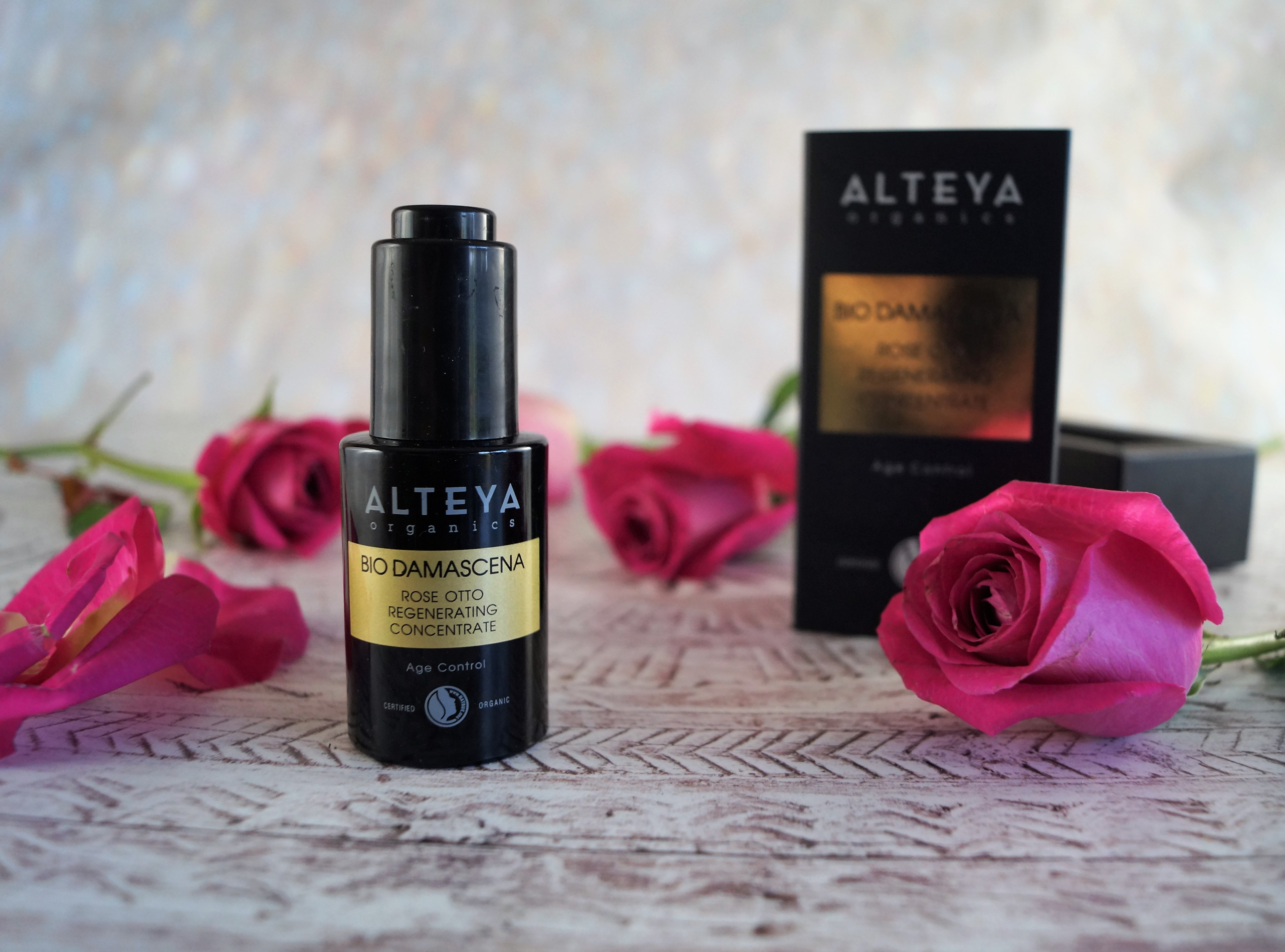 Alteya Certified Organic Rose Otto Regenerating Concentrate