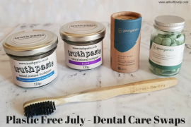 Plastic Free July - Dental Care Swaps