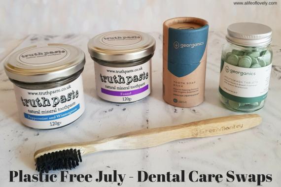 Plastic Free July - Dental Care Swaps