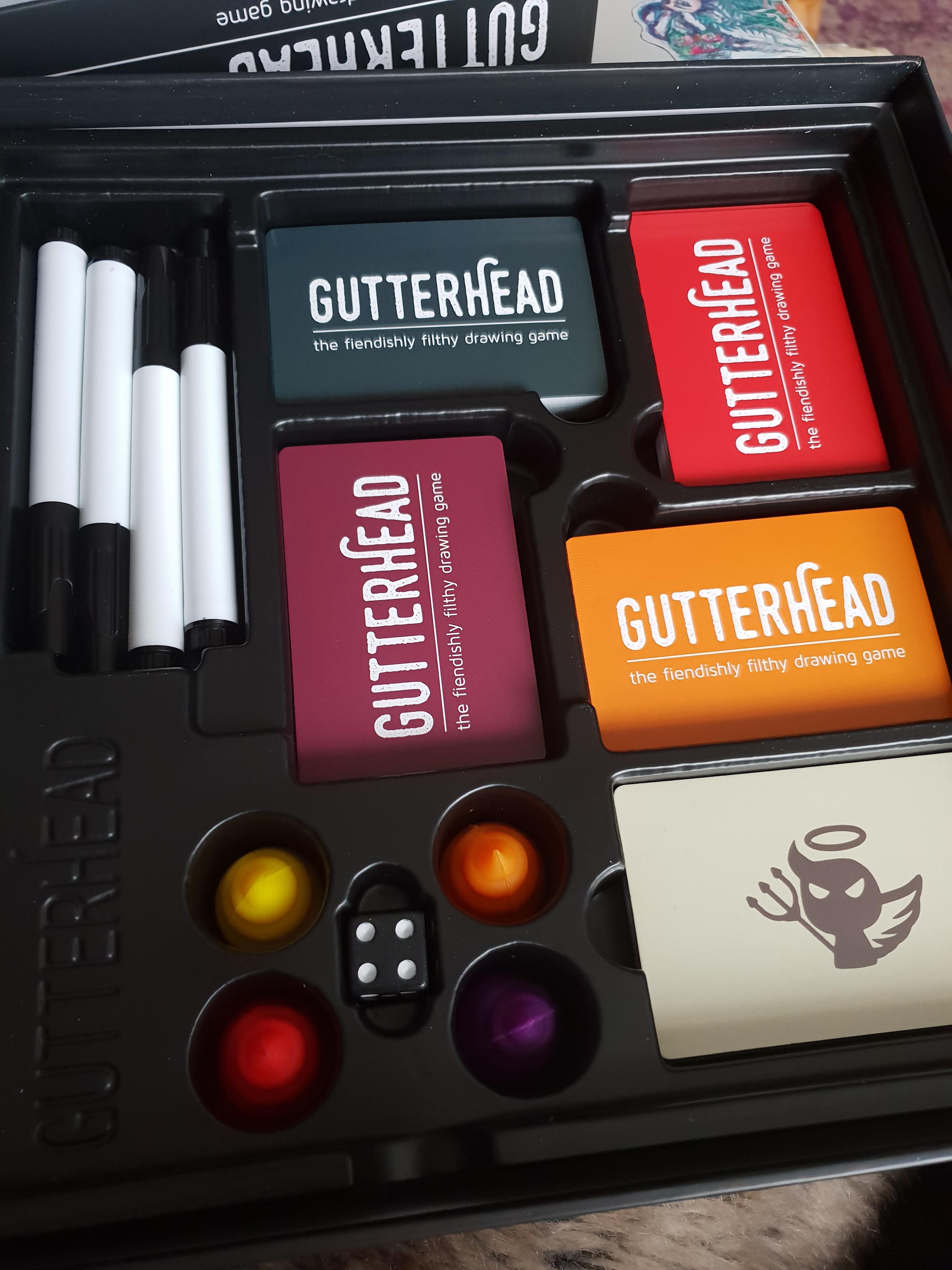 Gutterhead box contents
