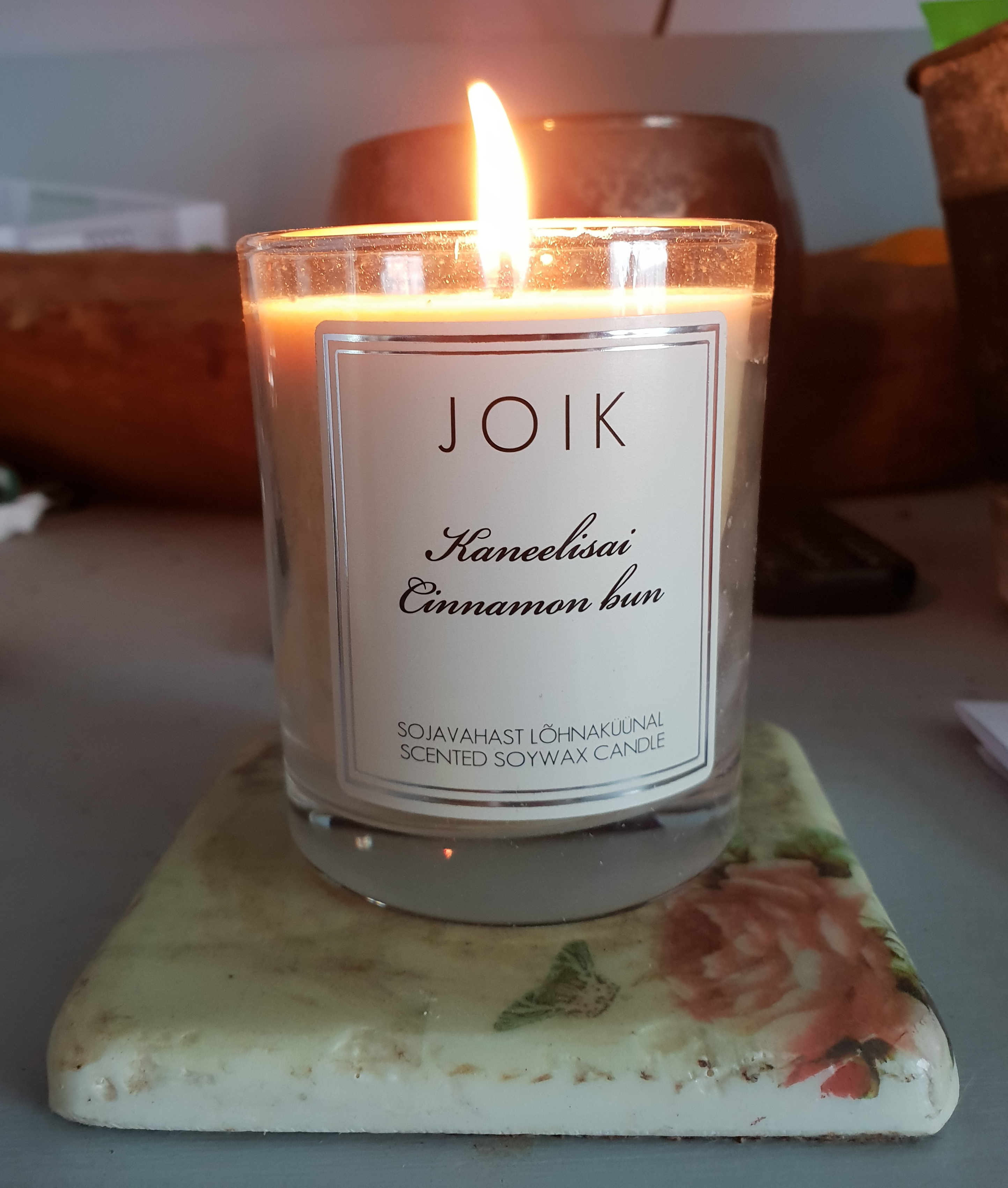 Cinnamon Bun Soy Wax Candle by Joik
