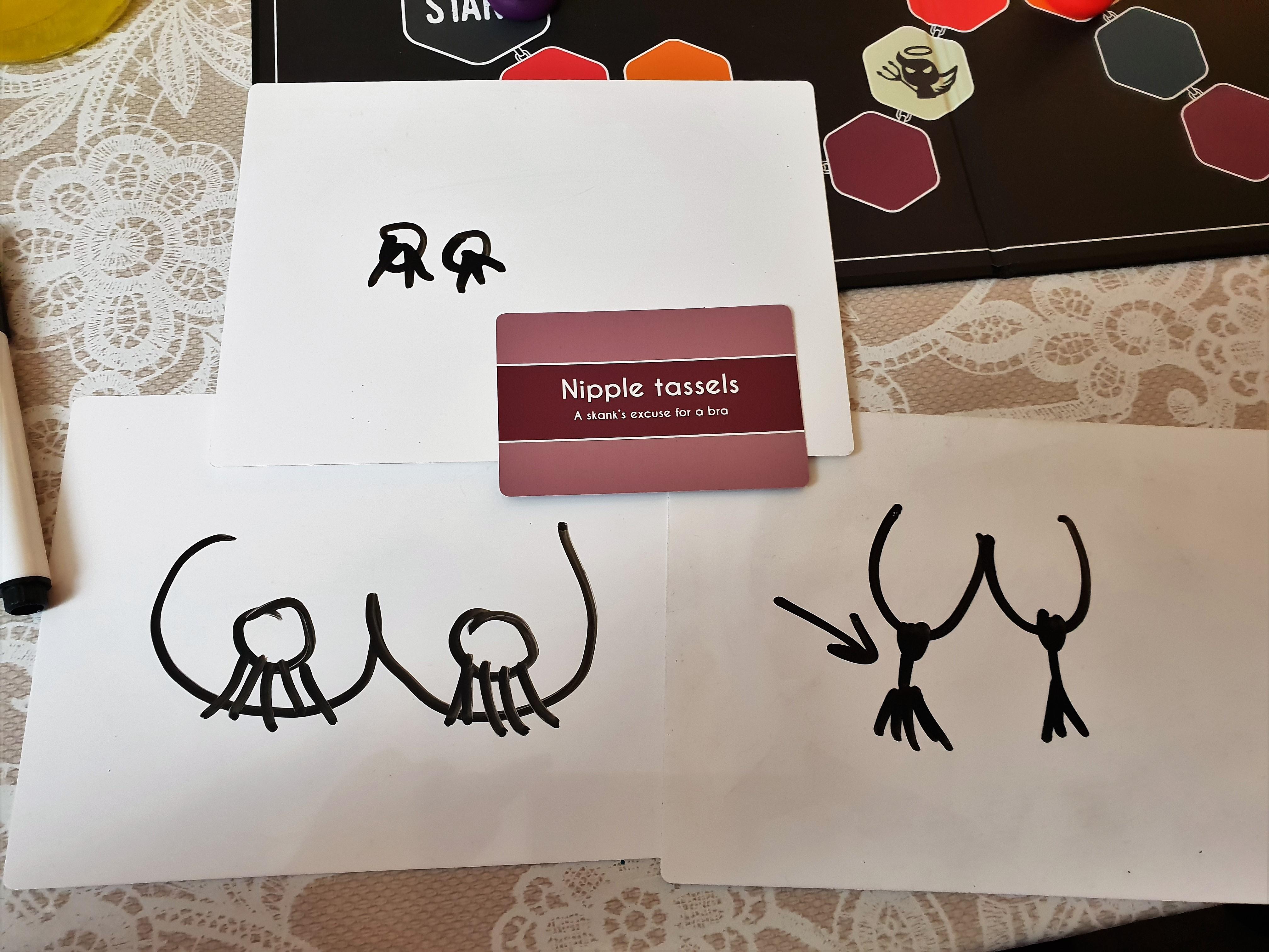 Gutterhead drawing nipple tassels