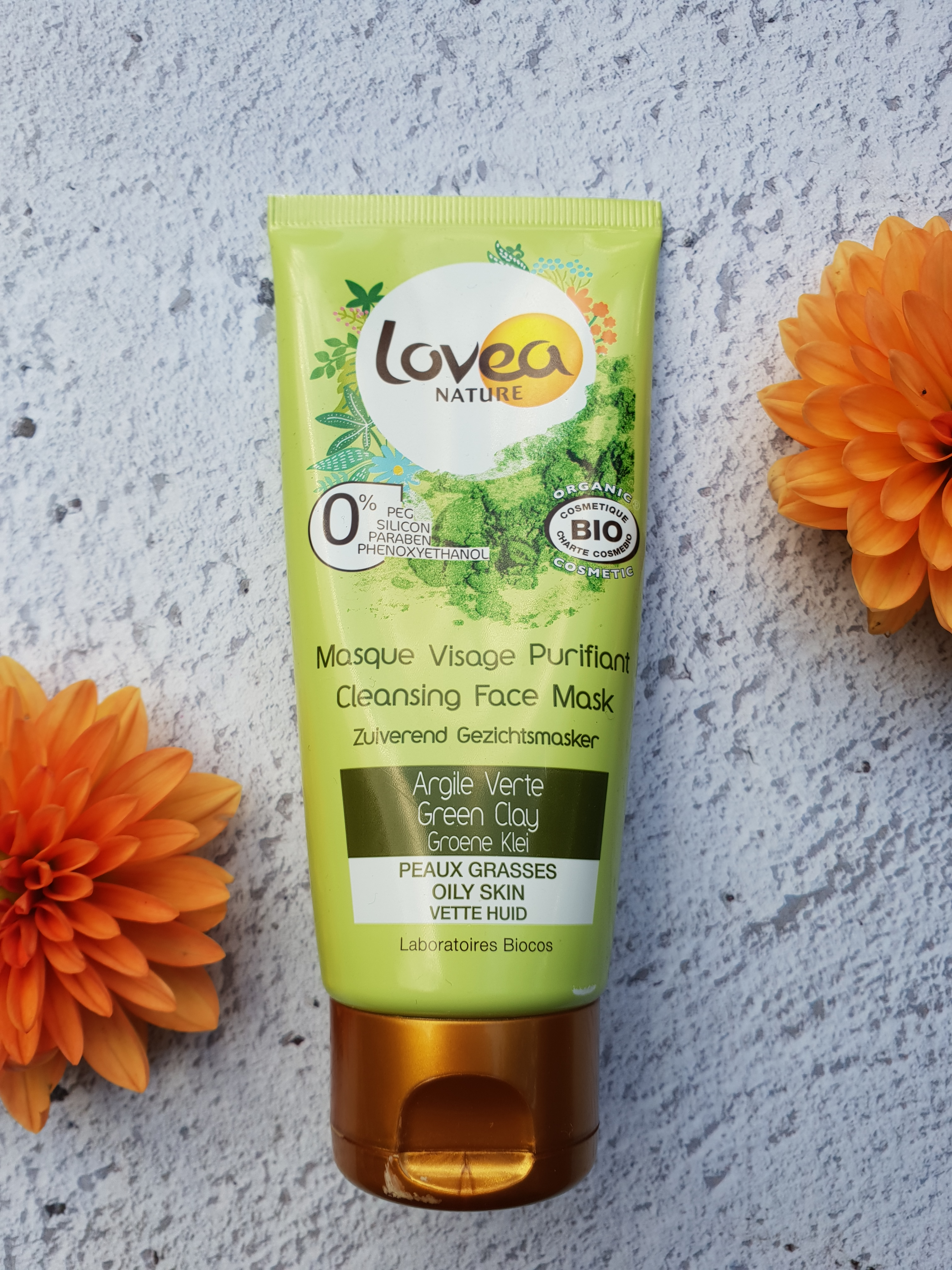 Lovea Green Clay mask