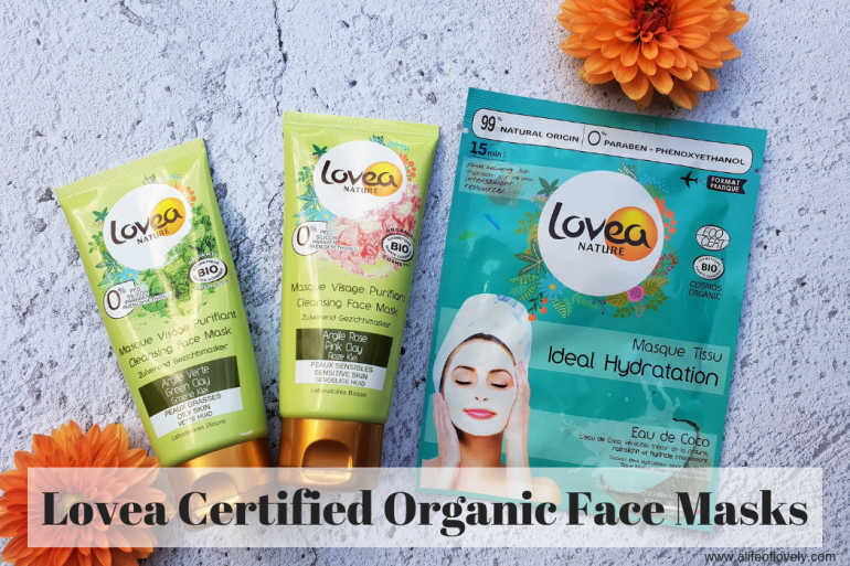 Lovea Certified Organic Face Masks