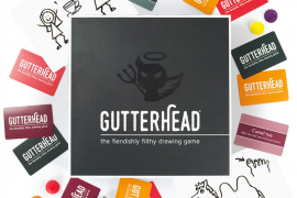 Gutterhead - The Fiendishly Filthy Drawing Game