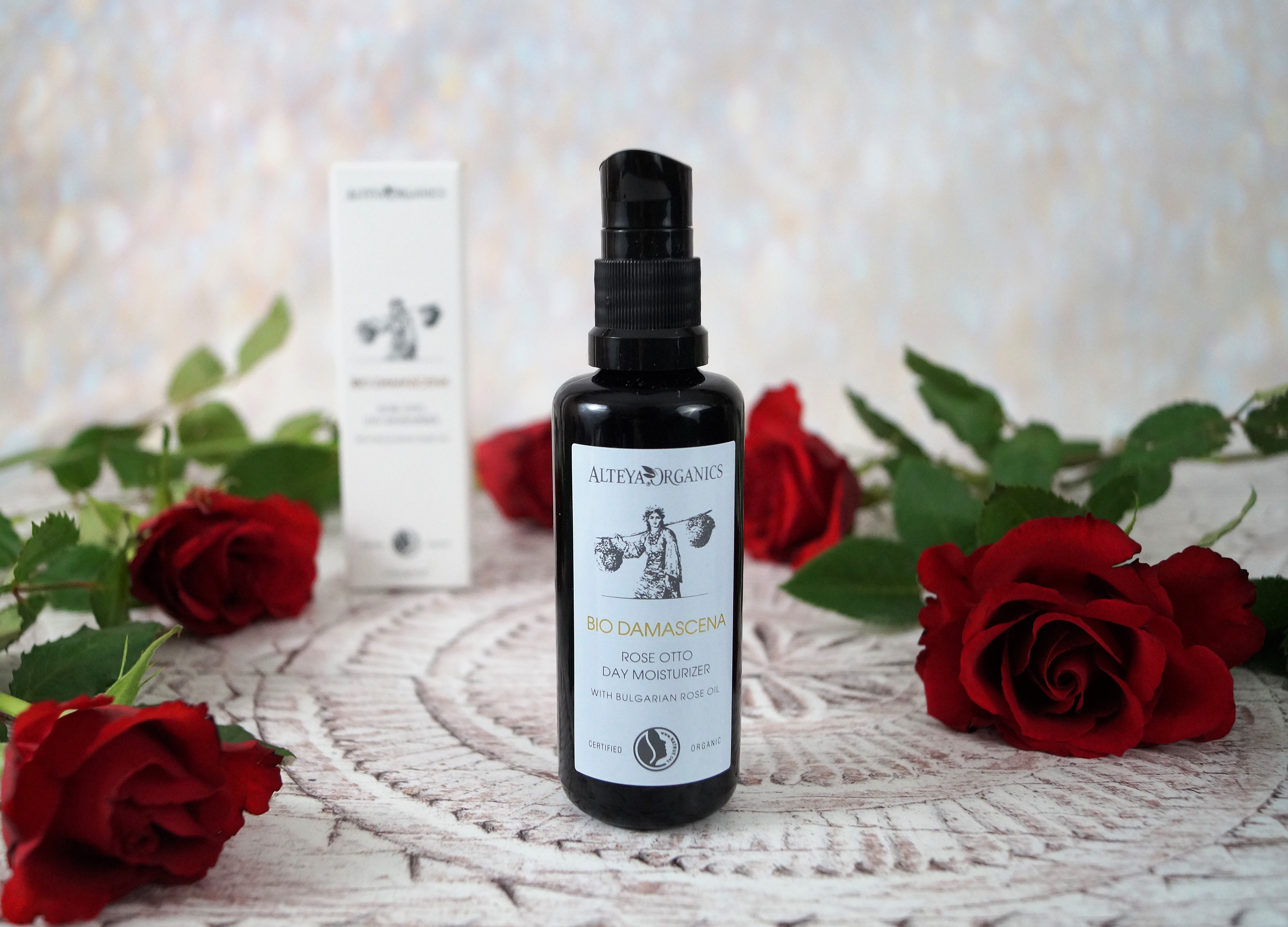 Alteya Certified Organic Rose Otto Day Face Moisturizer