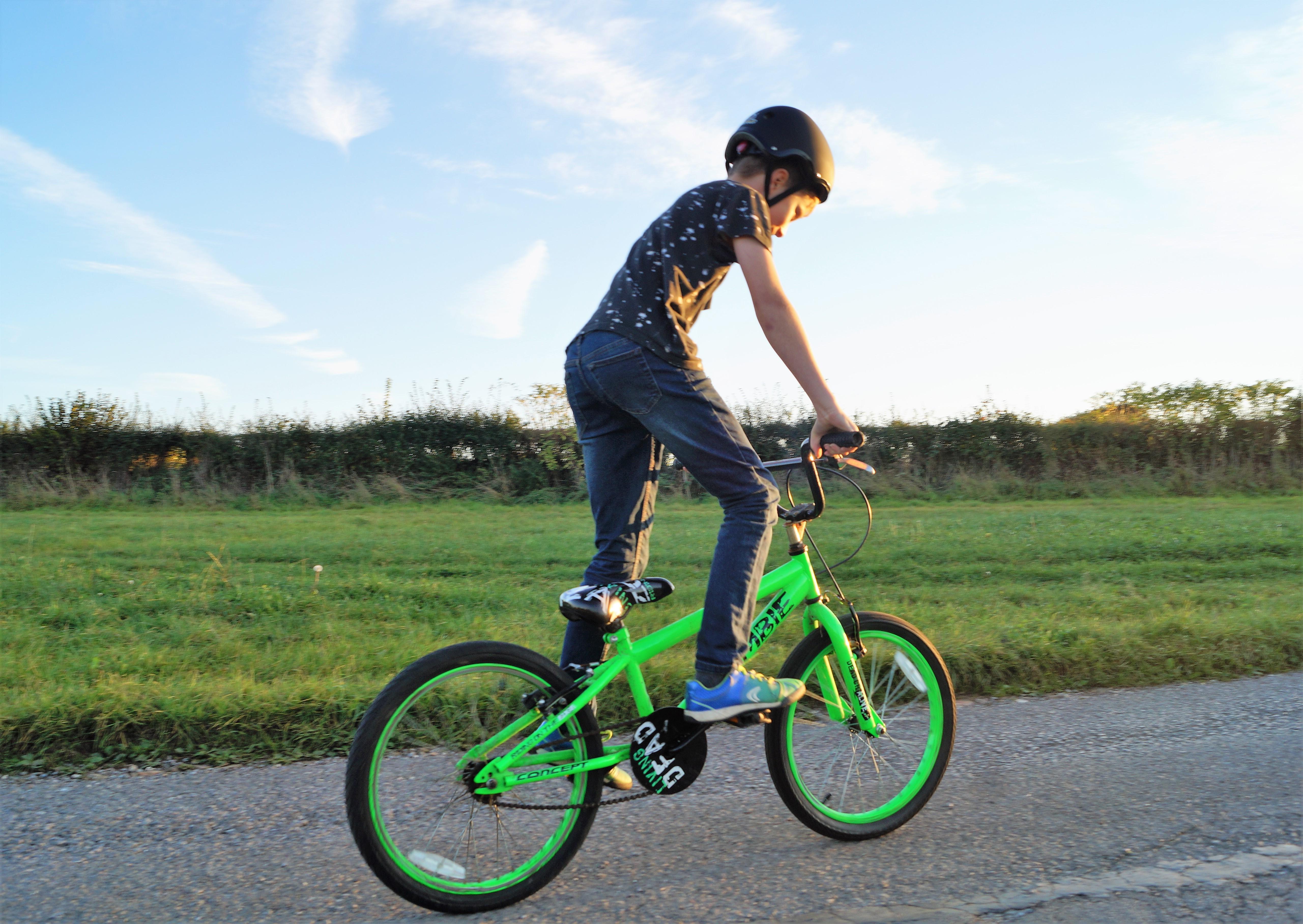 Mini Hornit Cycle Helmet