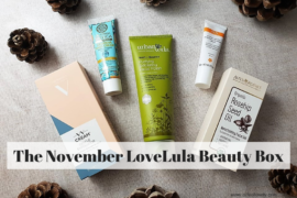 The November LoveLula Beauty Box