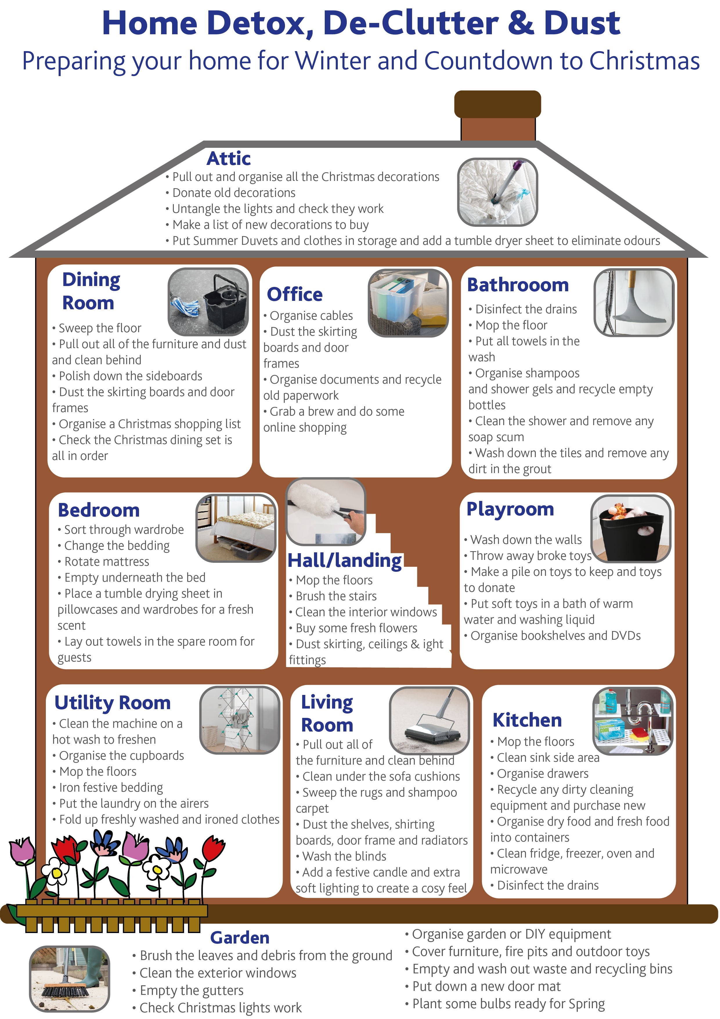 preparing your home for winter and Christmas