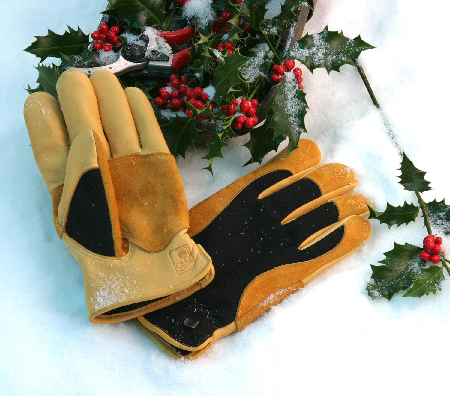 Mens Thermal Gardening Gloves
