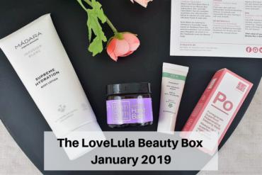 The LoveLula Beauty Box - January 2019